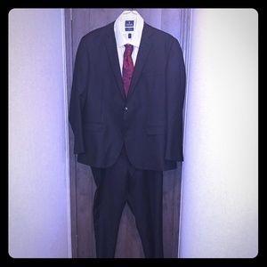 Black suit 2 pc